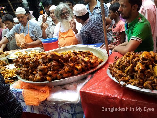 Iftar item in Chawkbazar