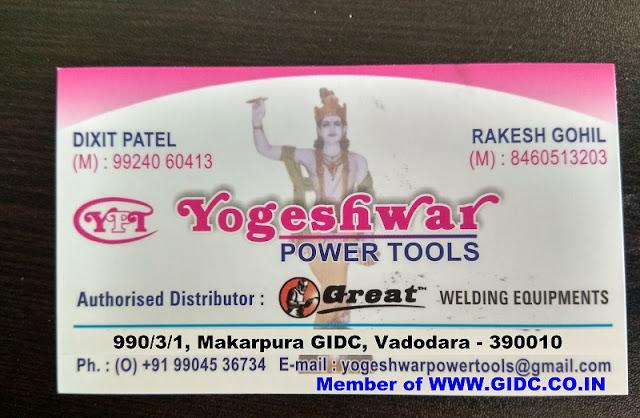 YOGESHWAR POWER TOOLS - 9924060413