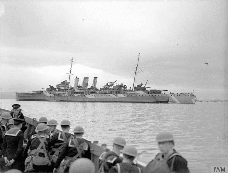 16 March 1940 worldwartwo.filminspector.com HMS Norfolk