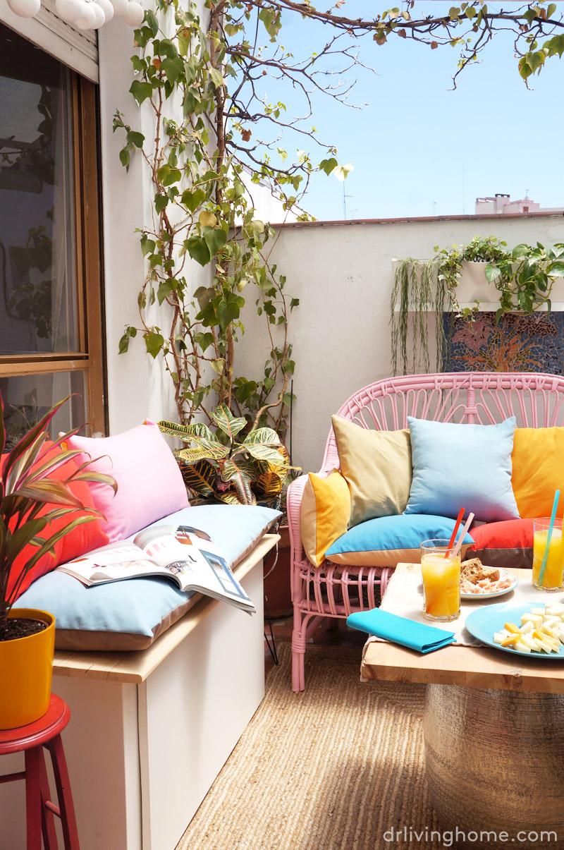 Antes y despu s la decoraci n de mi terraza blog decoraci n con tu estilo c mo decorar tu - Decoracion de casas antes y despues ...