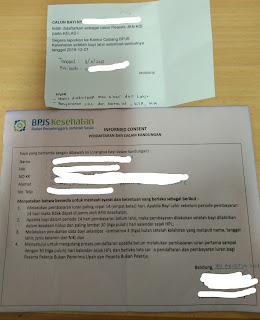 Contoh Kartu Pendaftaran Bayi dalam Kandungan