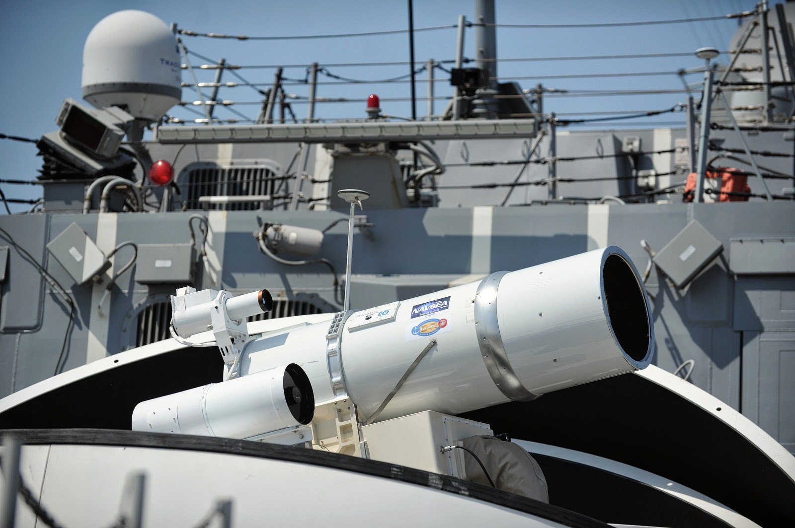 Naval Open Source INTelligence: Hi-tech laser, microwave