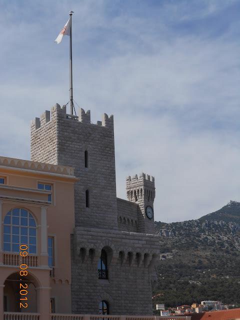Castelo em Mônaco - França - Cidade Antiga - Nice - Alto da Colina - Europa