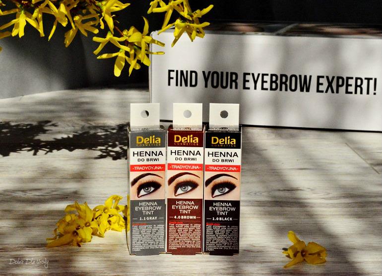 Delia Henna Eyebrow Tint Henna do brwi tradycyjna