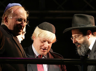 Conniving Boris Johnson Ardent Zionist
