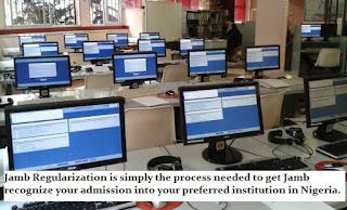 JAMB Regularization Procedures 2019