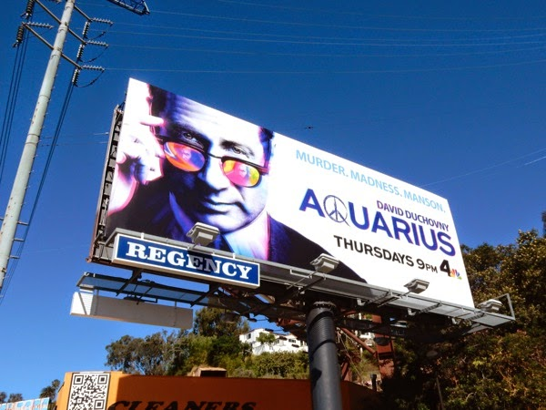 David Duchovny Aquarius series premiere billboard