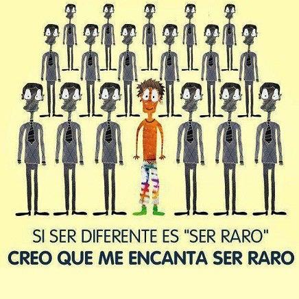 ===Ser diferente...=== FRASES-IRONICAS