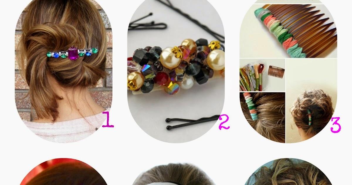 Moda fai da te accessori per capelli bellissimi tutorial dal web - Accessori bagno fai da te ...