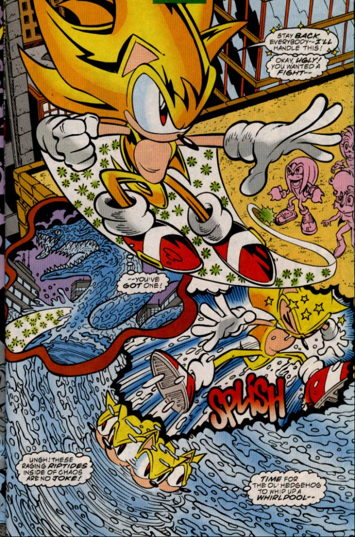 Read online Sonic The Hedgehog comic -  Issue #83 - 21