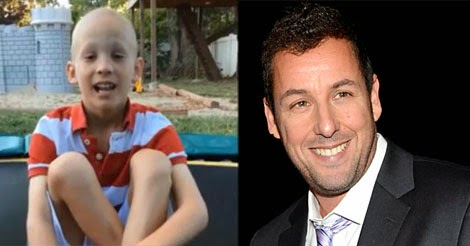 Can any of you get this kid in touch with Adam Sandler