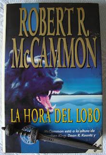 Portada del libro La hora del lobo, de Robert R. McCammon