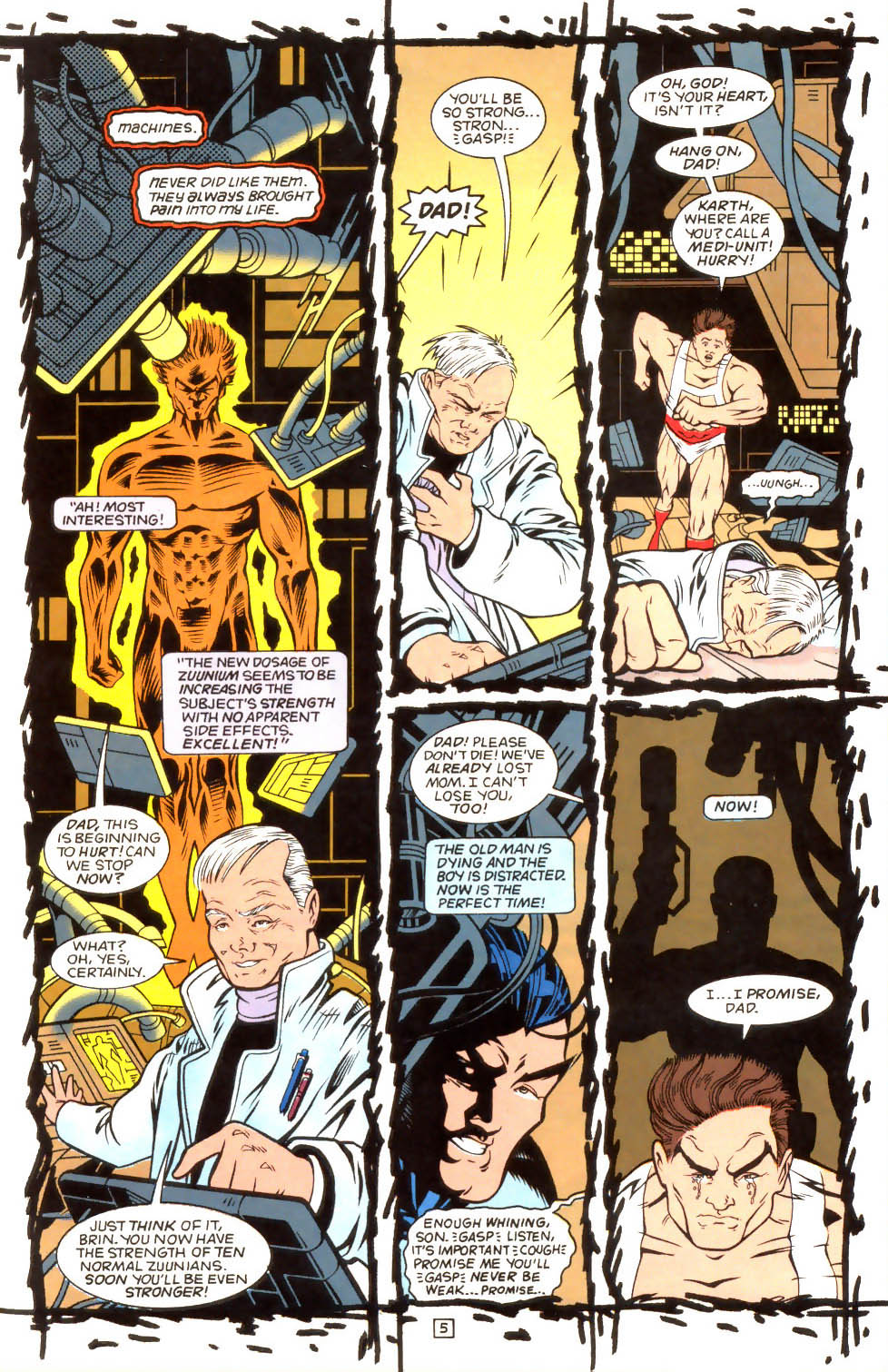 Legion of Super-Heroes (1989) 52 Page 5
