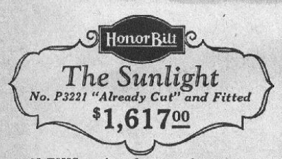 sears sunlight price 1929