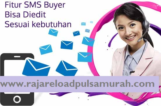 Cara Setting SMS Buyer Raja Pulsa