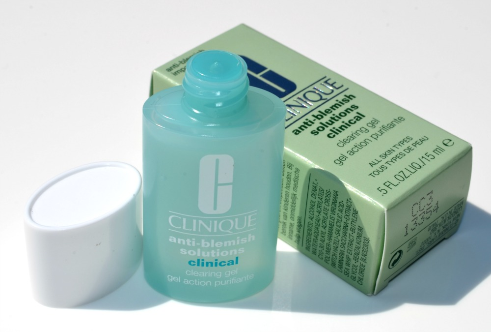 Clinique Anti-Blemish Solutions Clinical Clearing Gel Review