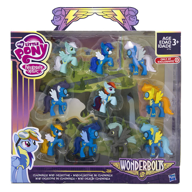 Target exclusive Wonderbolts Blindbag Collection