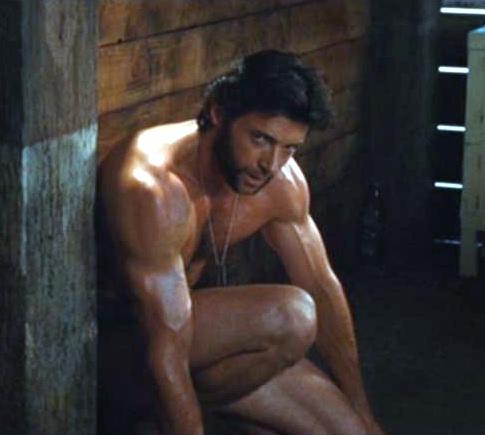 wolverine hugh jackman naked