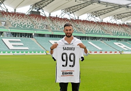 Armando Sadiku already part of  Legia Warsaw