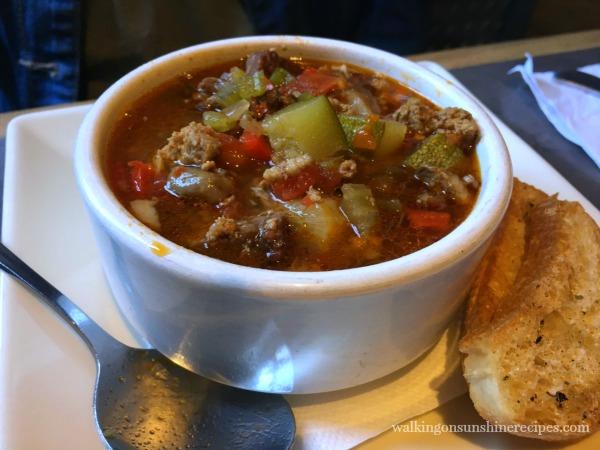 Bethlehem Brew Works Labor Day soup from Walking on Sunshine Recipes.