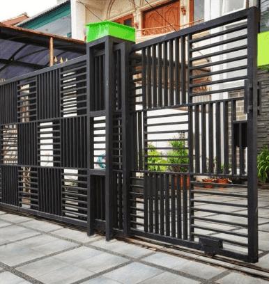 69 Gambar Model Pagar Rumah Tembok Terbaru 2020 Godean