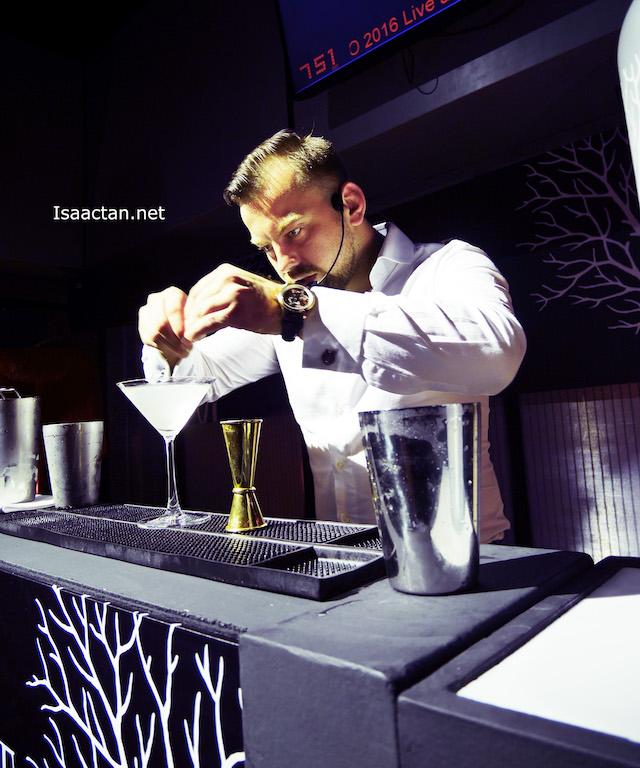 Asia Pacific Brand Ambassador for Belvedere Vodka, Marek Vojcarcik