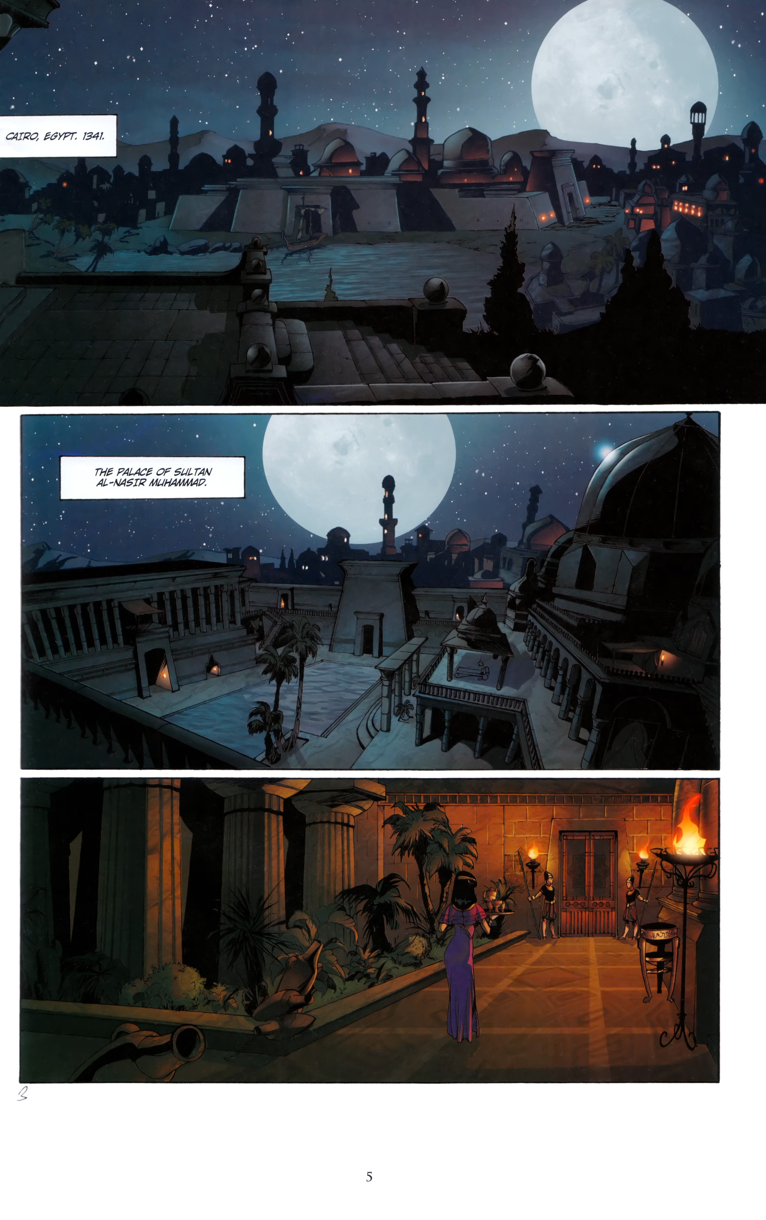 Read online Assassin's Creed (2012) comic -  Issue #5 - 5