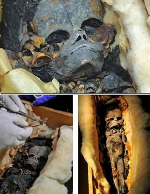 مومياء كائن فضائى وجدت فى مصر
