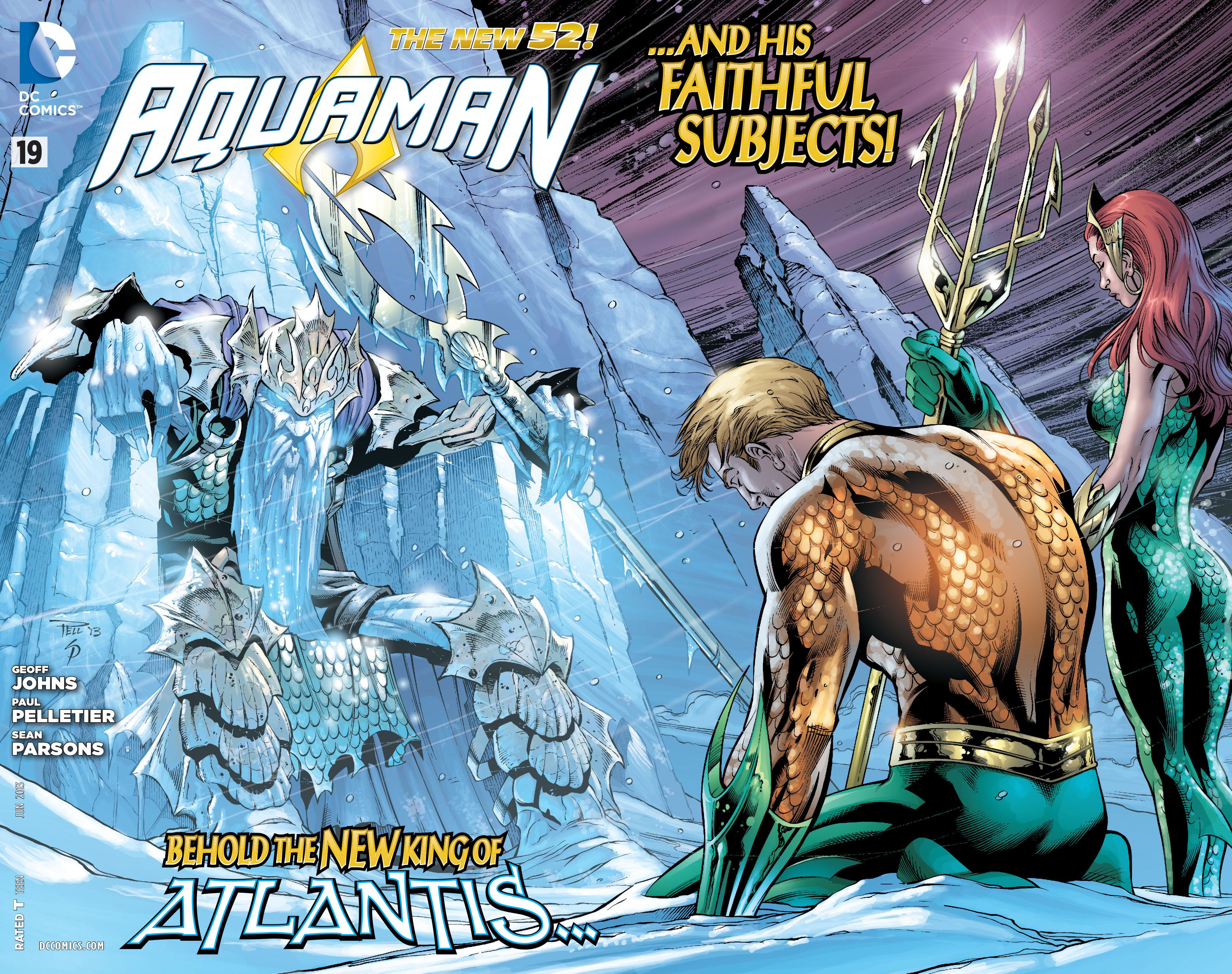 Read online Aquaman (2011) comic -  Issue #19 - 2