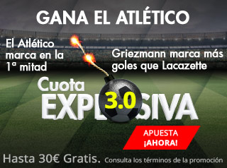 suertia promocion europa league Atletico vs Arsenal 3 mayo