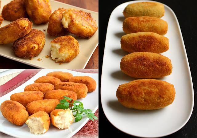 أسهل طريقة لعمل بطاطس كروكيت في المنزل مع موقع عالم الطبخ والجمال!