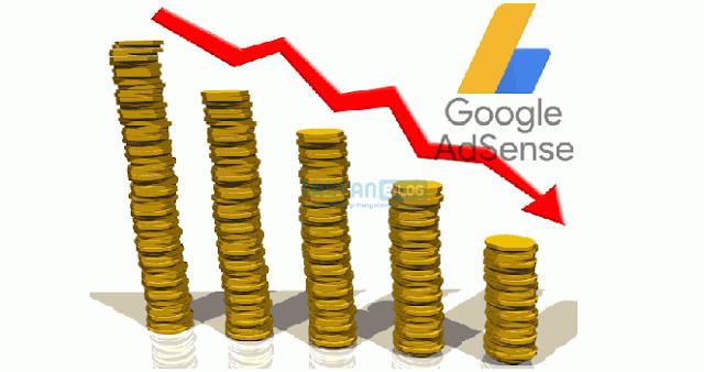 6 Penyebab Penghasilan Google Adsense Tidak Meningkat Paling Umum Terjadi