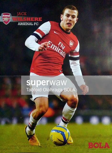 Jack Wilshere Arsenal FC 2012