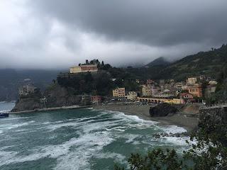 Cinque Terre Italy stormy seaside