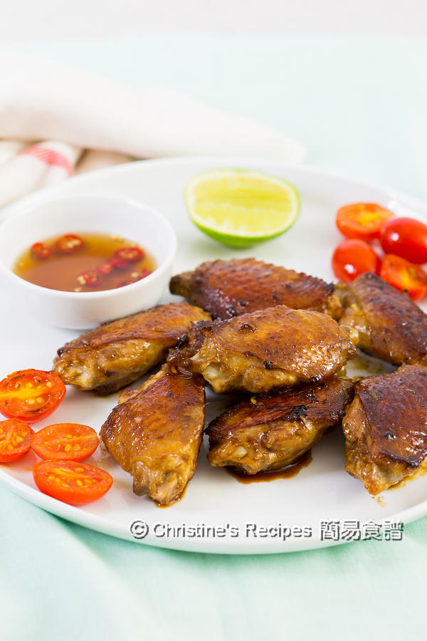 香煎香茅雞翼 Pan Fried Lemongrass Chicken Wings01