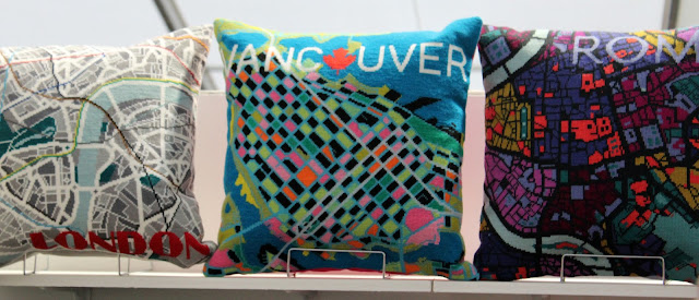 The Handmade Fair - Hannah Bass Vancouver cushion