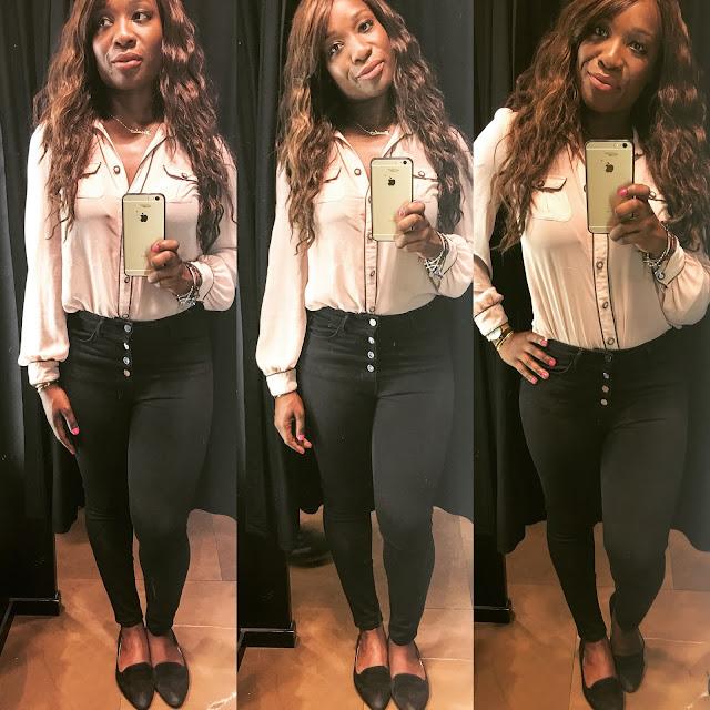 Zara cropped black jeans