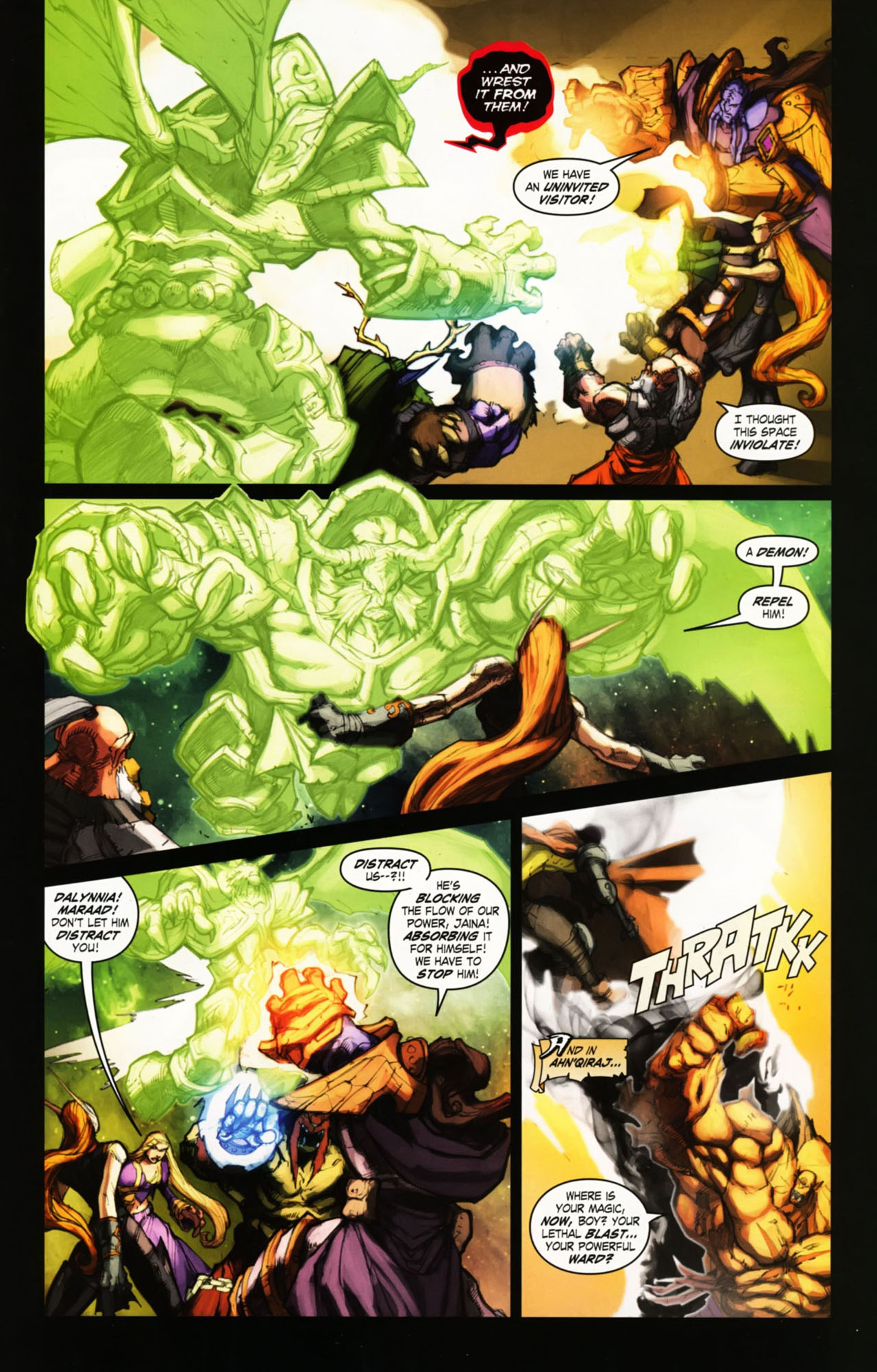 Read online World of Warcraft comic -  Issue #25 - 28