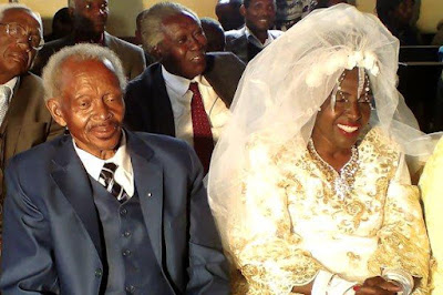 Woman Gets Married For The First Time At 60 (Photo)