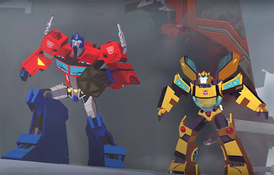 Transformers: Cyberverse animated series trailer