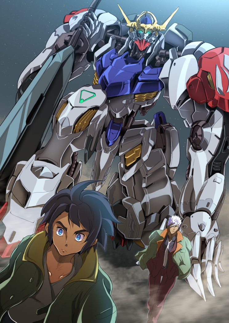 Mobile Suit Gundam - Iron-Blooded Orphans S02 Complete (1080p)[x265][10-bit]