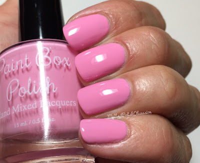 Paint Box Polish, Ciao, Gelato! collection, Spring 2016; Fragola