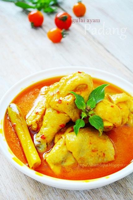 Cara Membuat Gulai Ayam : membuat, gulai, Ilham, Dapur:, Gulai, Padang