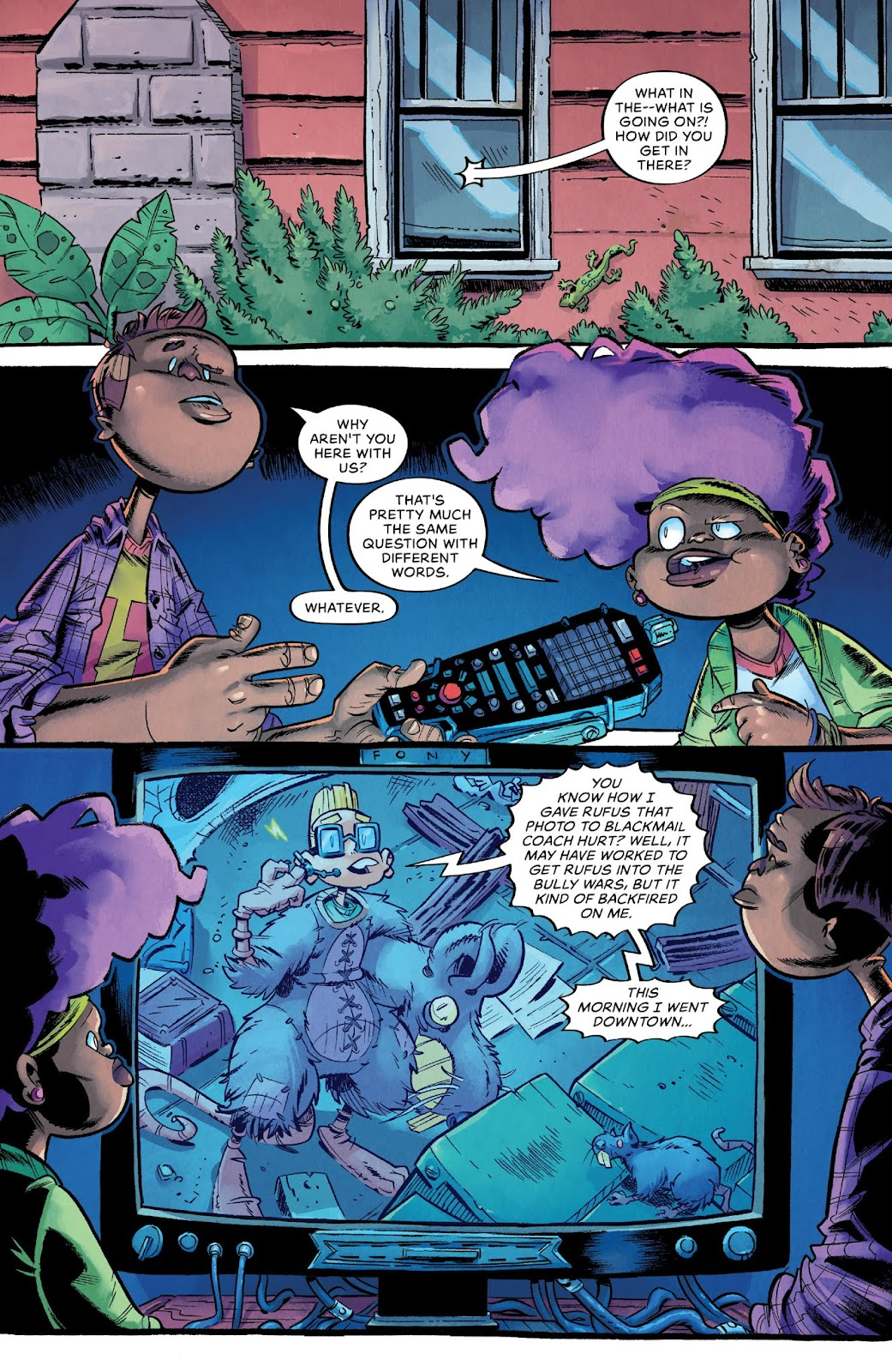 Read online Bully Wars comic -  Issue #4 - 3