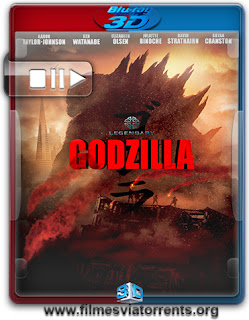 Godzilla Torrent - BluRay Full HD 1080p 3D HSBS Dual Áudio (2014)