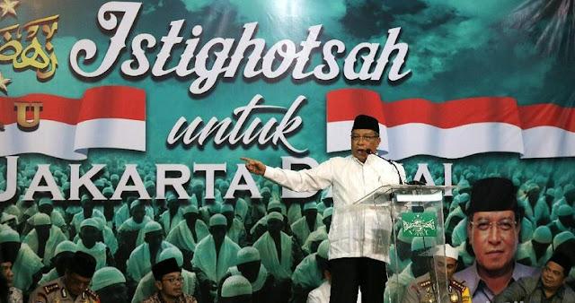 Said Aqil: Jangan Ngaku Ahli Agama Kalo Demo, Netizen: Nabi Aja Berperang