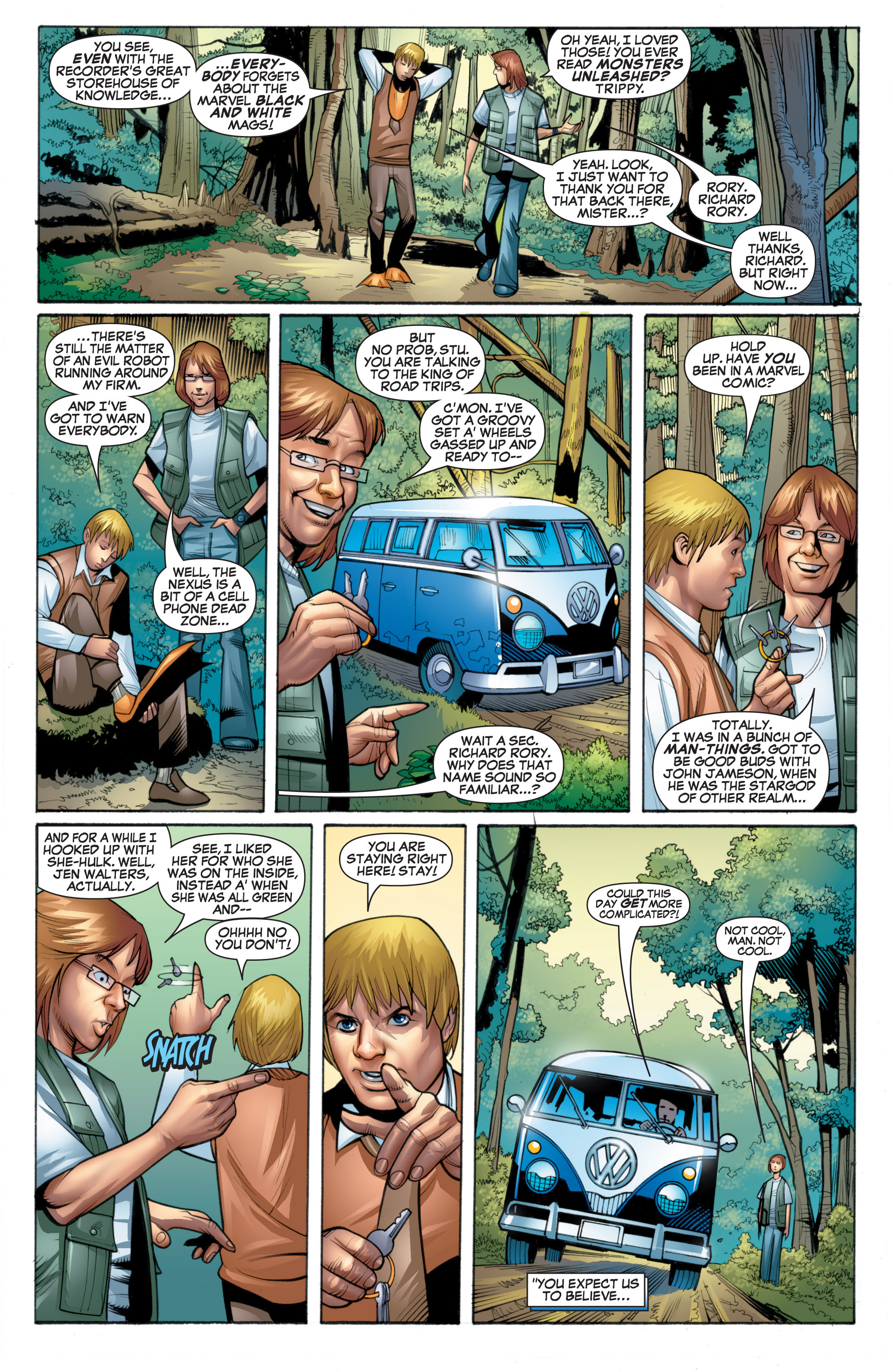 Read online She-Hulk (2005) comic -  Issue #20 - 9