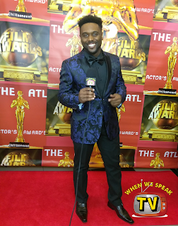 Jermaine Sain at ATL Actors Awards