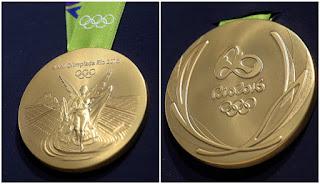 medalla de oro olímpica