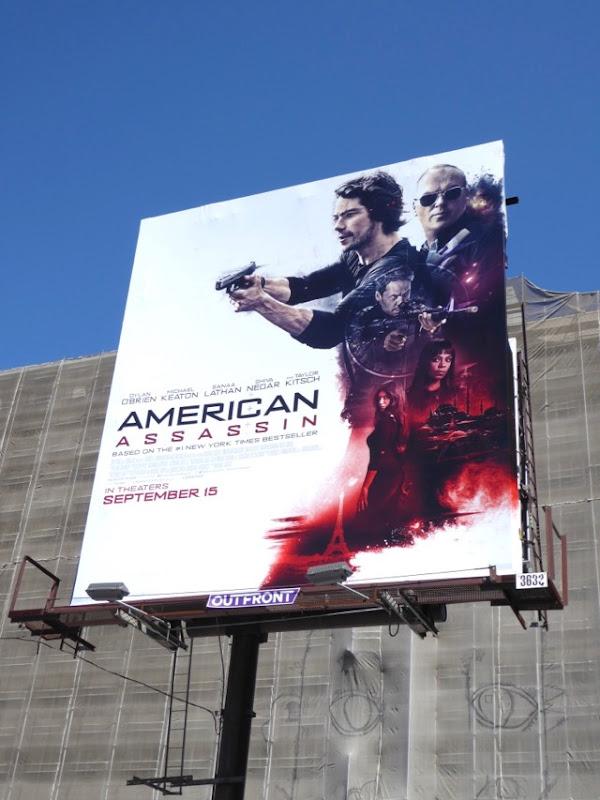 American Assassin film billboard